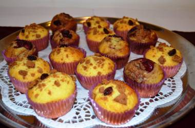 sladké pečivo - muffiny